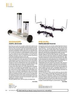 Sticks Sonor Acryl Shaker
