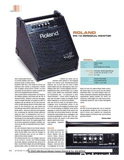 Sticks Roland PM-10 Personal Monitor