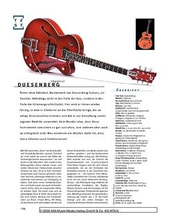 Gitarre & Bass Duesenberg Imperial, Archtop-E-Gitarre