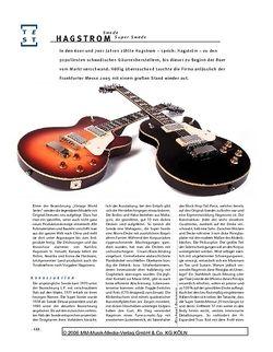 Gitarre & Bass Hagstrom Swede & Super Swede, E-Gitarren