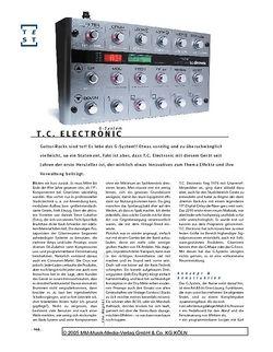 Gitarre & Bass TC Electronic G-System
