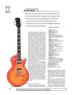Gitarre & Bass Gibson Les Paul Standard Faded, E-Gitarre