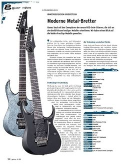 Guitar gear E-Gitarre - Ibanez RGD2120Z-CSM & RGD2127Z-ISH