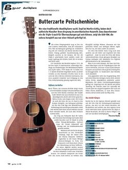 Guitar gear Akustikgitarre - Martin 000-15M