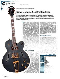 Guitar gear E-Gitarre - Gretsch G5191BK Tim Armstrong Electromatic