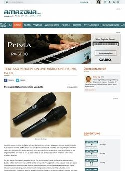 Amazona.de Test: AKG Perception Live-Serie Teil 1
