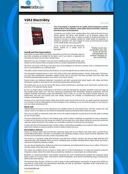 MusicRadar.com VIR2 Electri6ity