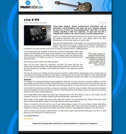 MusicRadar.com Line 6 M9
