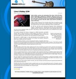 MusicRadar.com Line 6 Relay G30