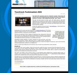 MusicRadar.com Toontrack Funkmasters EZX