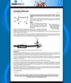 MusicRadar.com Yamaha Hexrack