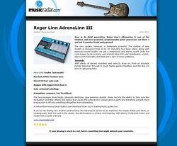 MusicRadar.com Roger Linn AdrenaLinn III