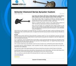 MusicRadar.com Schecter Diamond Series Synyster Custom