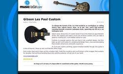 MusicRadar.com Gibson Les Paul Custom
