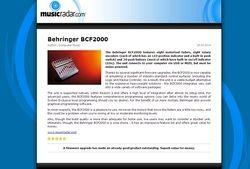 MusicRadar.com Behringer BCF2000