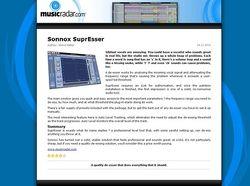 MusicRadar.com Sonnox SuprEsser