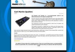 MusicRadar.com Carl Martin Quattro