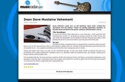MusicRadar.com Dean Dave Mustaine Vehement