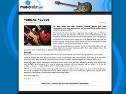 MusicRadar.com Yamaha FG730S