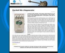 MusicRadar.com Marshall RG-1 Regenerator