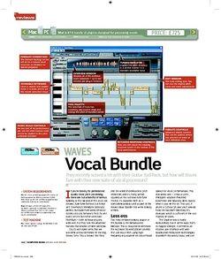 Computer Music WAVES Vocal Bundle