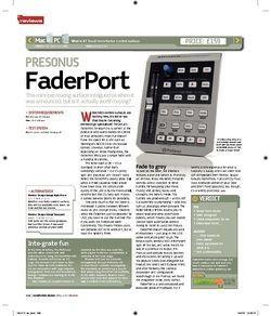 Computer Music PRESONUS FaderPort