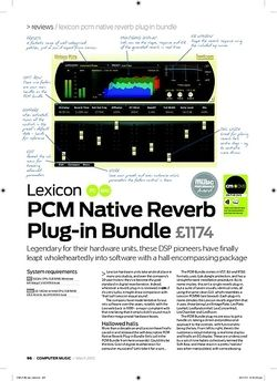 Computer Music Lexicon PCM Native Reverb Plugin Bundle