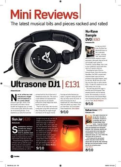 Future Music Ultrasone DJ1