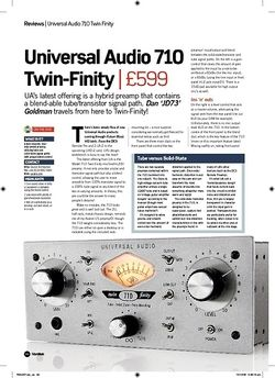 Future Music Universal Audio 710 TwinFinity