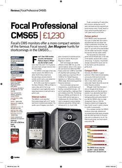 Future Music Focal Professional CMS65