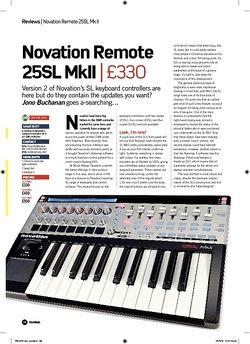 Future Music Novation Remote 25SL MkII