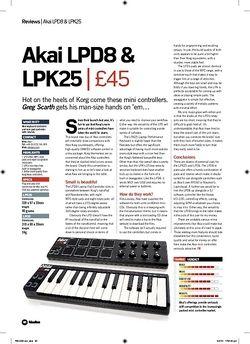 Future Music Akai LPD8