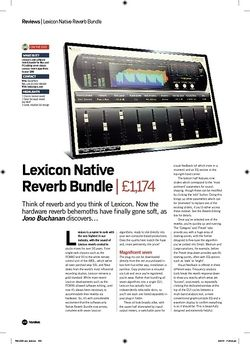 Future Music Lexicon Native Reverb Bundle
