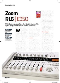 Future Music Zoom R16