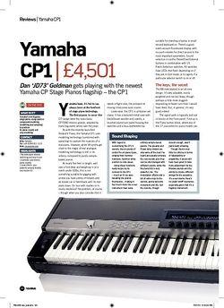 Future Music Yamaha CP1