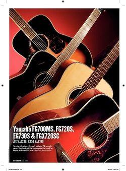 Guitarist Yamaha FGX720SC