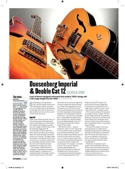 Guitarist Duesenberg Imperial