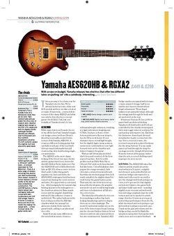 Guitarist Yamaha RGXA2