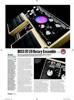 Guitarist Boss RT20 Rotary Ensemble