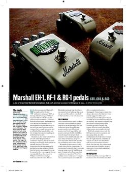 Guitarist Marshall EH1 pedal