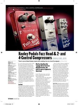 Guitarist Keeley 2Control Compressor