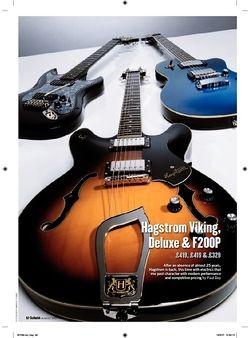 Guitarist Hagstrom Deluxe