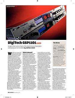 Guitarist DigiTech GSP1101