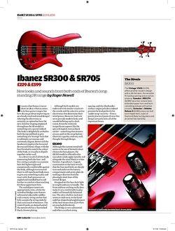 Guitarist Ibanez SR300