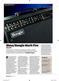 Guitarist Mesa/Boogie Mark Five
