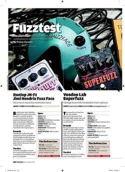 Guitarist ZVex Fuzz Factory