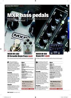 Guitarist MXR M181 Bass Blow Torch