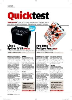 Guitarist Line 6 Spider IV 15
