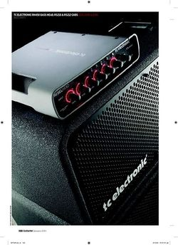 Guitarist TC Electronic RS210 and RS212 Cabinets