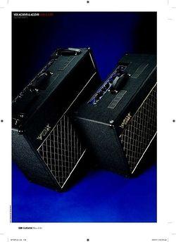 Guitarist Vox AC15VR